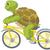 grappig · schildpad · geïsoleerd · witte - stockfoto © RAStudio