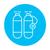 oxygen tank line icon stock photo © rastudio