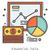 financeiro · dados · linha · ícones · metáfora - foto stock © rastudio