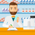 farmacêutico · homem · prescrição · mão - foto stock © rastudio