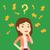 vraagteken · pijlen · besluitvorming · punt · vector · afbeelding - stockfoto © rastudio