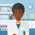 farmacêutico · pílulas · homem · de · mãos · dadas · vidro · água - foto stock © RAStudio