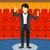 アジア · 小さな · オーケストラ · 濃縮された · 男 - ストックフォト © rastudio