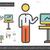 business coaching line icon stock photo © rastudio