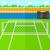 teniszlabda · hálózat · zöld · illusztráció · sport · fény - stock fotó © rastudio