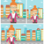 business woman smoking cigar vector illustration stock photo © rastudio
