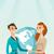 global · mapa · negócio · trabalho · em · equipe · mapa · do · mundo - foto stock © rastudio