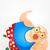 ぽってり · 男 · 楽しい · 脂肪 · 漫画 - ストックフォト © rastudio