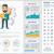business flat design infographic template stock photo © rastudio