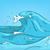 cartoon background of sea landscape stock photo © rastudio