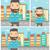 ビジネスマン · 豊富な · 男 · お金 · 漫画 · 実例 - ストックフォト © rastudio