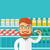 farmacêutico · químico · homem · farmácia · farmácia · retrato - foto stock © rastudio
