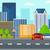 background of modern city stock photo © rastudio