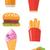 fast · food · prodotti · vettore · design · ristoranti - foto d'archivio © rastudio