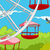 cartoon background of amusement park stock photo © rastudio