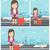 女性 · 恐怖 · 飛行 · アジア · 驚いた - ストックフォト © rastudio