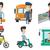 kafkas · otobüs · sürücü · oturma · direksiyon · genç - stok fotoğraf © rastudio