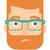 молодые · депрессия · человека · борода · вектора · дизайна - Сток-фото © RAStudio