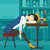 woman sleeping in bar stock photo © rastudio