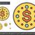 Dollarzeichen · line · Symbol · Vektor · isoliert · weiß - stock foto © rastudio