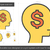employee cost line icon stock photo © rastudio