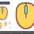 wireless mouse line icon stock photo © rastudio