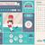 sportok · vonal · terv · infografika · sablon · elemek - stock fotó © rastudio