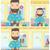 man showing epmty wallet vector illustration stock photo © rastudio