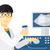 asian · ultrasuoni · medico · scanner · operatore · macchina - foto d'archivio © rastudio