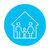 family house line icon stock photo © rastudio