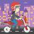 vektör · karikatür · motosiklet · eps8 · gruplar - stok fotoğraf © rastudio