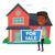 giovani · african · agente · immobiliare · offrendo · casa · vendita - foto d'archivio © rastudio