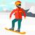 moço · snowboarding · asiático · homem · neve · montanha - foto stock © rastudio