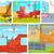 illusztráció · építkezés · állvány · épület · vízszintes · építkezés - stock fotó © rastudio