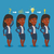 business woman having idea vector illustration stock photo © rastudio