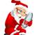 サンタクロース · 孤立した · グレー · 勾配 · 検索 - ストックフォト © RAStudio