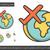 global traveling line icon stock photo © rastudio