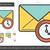 email · csekk · vonal · ikon · vektor · izolált - stock fotó © rastudio