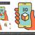drie · telefoon · cel · smart · mobiele · 3D - stockfoto © rastudio