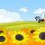 bee · zonnebloem · zomer · seizoen · natuur · hoofd - stockfoto © rastudio