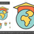 universidade · graduação · linha · ícone · vetor · isolado - foto stock © rastudio