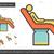 tandheelkundige · kliniek · lijn · icon · vector · geïsoleerd - stockfoto © RAStudio