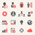 zászló · ikonok · gombok · konzerv · használt · nyelv - stock fotó © rastudio