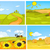 cartoon · soleil · nuage · isolé · blanche · ciel - photo stock © rastudio