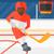 jégkorong · férfi · játékos · vektor · sportok · atléta - stock fotó © rastudio