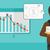 projector · scherm · grafiek · vector · ontwerp · illustratie - stockfoto © rastudio