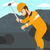miner working with pick stock photo © rastudio