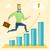 empresário · corrida · sucesso · assinar · vetor · illustrator - foto stock © rastudio
