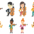 vector set of musicians characters stock photo © rastudio