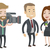 tv interview vector illustration stock photo © rastudio